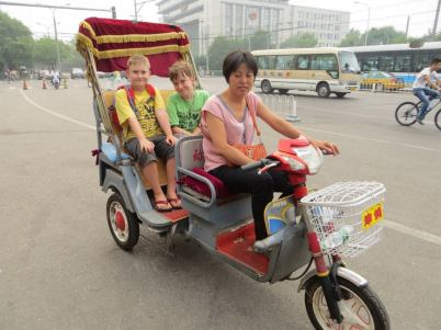 Tuk Tuk in China