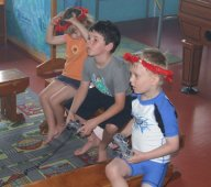Kids Club at the Raro Beach Resort