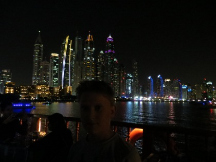 View from Dubai Marina Cruise