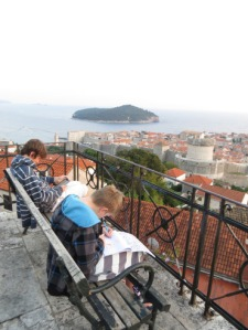 reading in dubrovnik