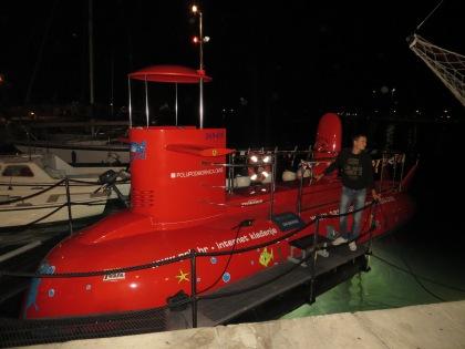 Submarine in Omis