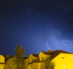 Thunder and Lightning in Omis
