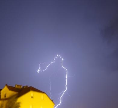 Thunder and Lightning in Omis