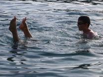 Swimming in Cavtat