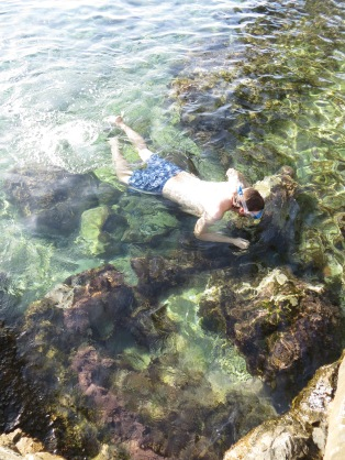 Crystal Clear water in Cavtat