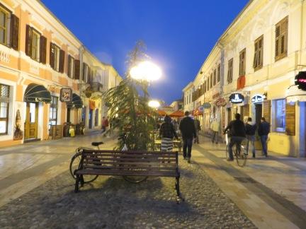 Padestrianised Street of Shkoder