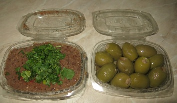 Bigilla and Olives